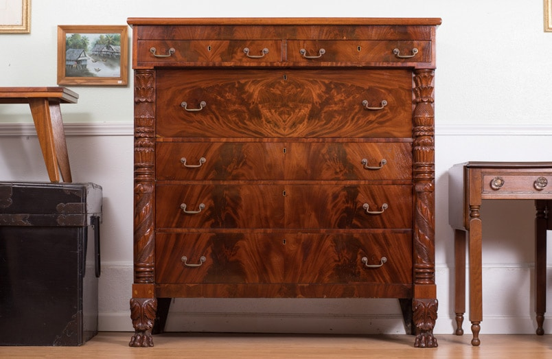 American Empire Chest Of Drawers Bryan Booth Fine