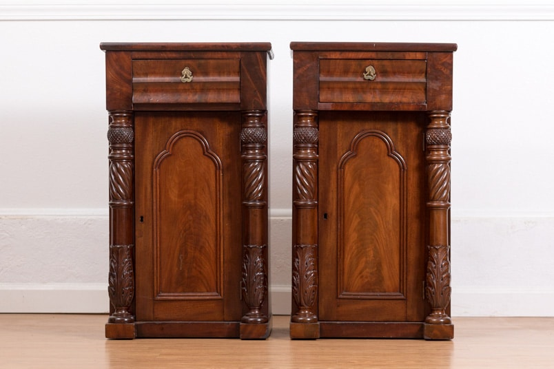 Pair of Empire Side Tables - Pair Of Empire Side Tables - Bryan Booth Fine Furniture Antiques