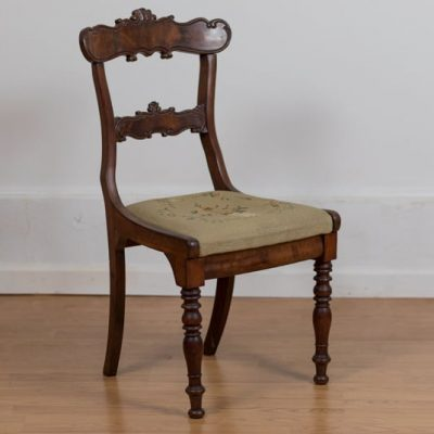 Mahogany side chair