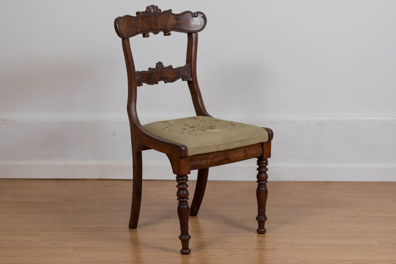 Sheraton Side Chair - Sheraton Side Chair - Bryan Booth Fine Furniture Antiques & Restoration