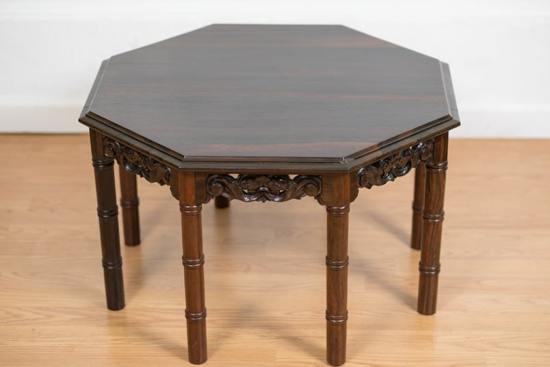 Brazilian Rosewood Side Table